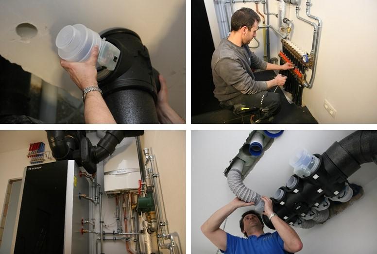 Energiezuinig ventileren en verwarmen